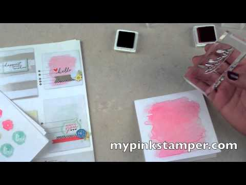 Watercolor Wishes Stampin' Up! Kit VIDEO and a Quick Card – Episode 383