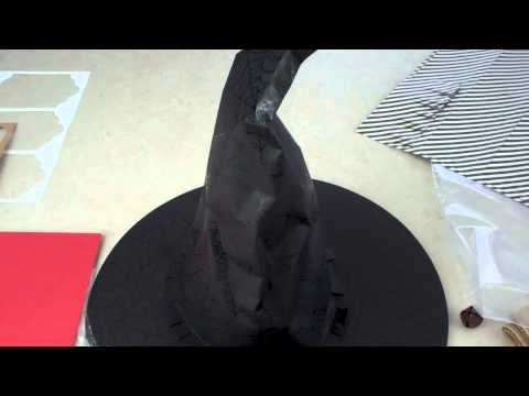 Fabulous Friday!  Witch Hat Tutorial from Stampin' Up! Holiday Catalog!  (Episode 404)