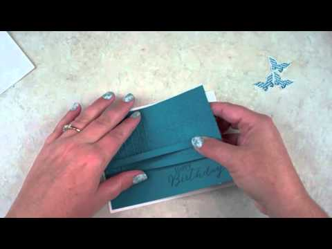 Tuesday VIDEO Tutorial – Episode 422 – Butterfly Card with Stampin' Up!