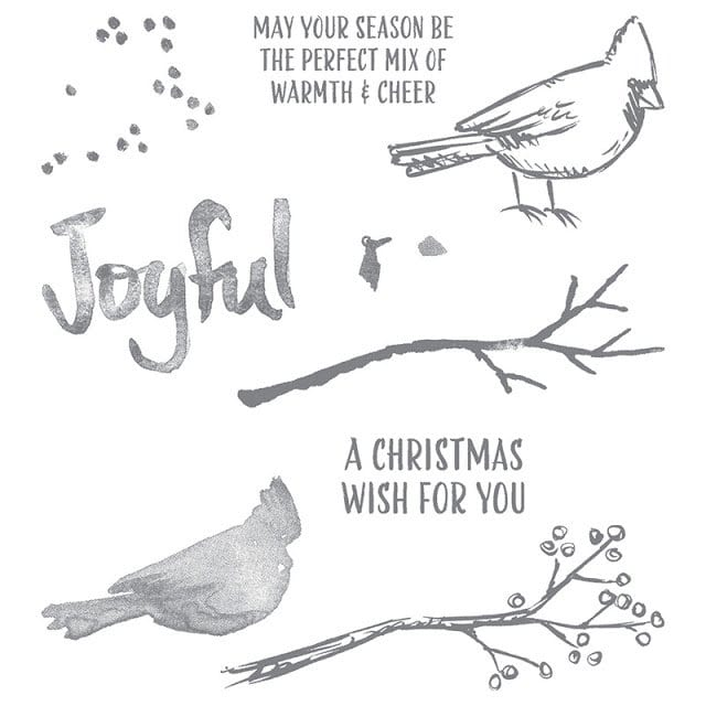 Joyful Season Stamp Set Giveaway and Winner
