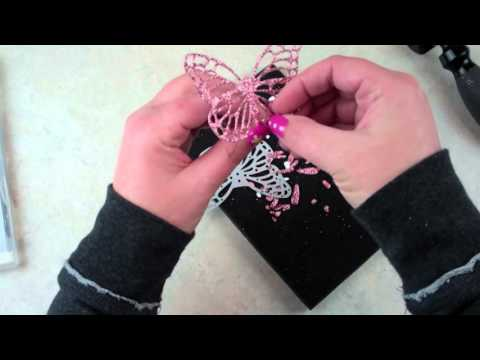 Butterfly Customer Thank You Cards VIDEO Tutorial!  Thoughtful Thursday!