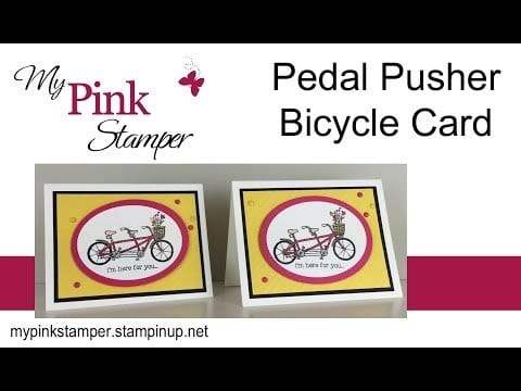 Last Day of Sale-a-bration!  Pedal Pusher Video Tutorial – Episode 472