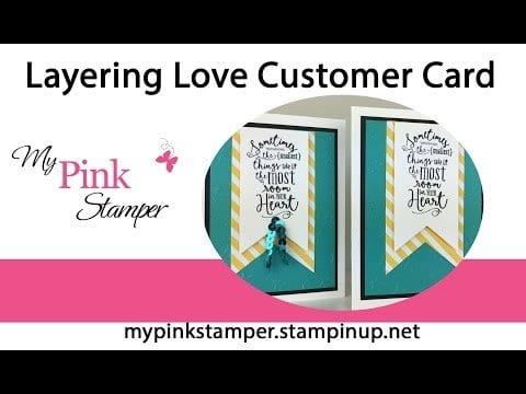 It's My 1 YEAR ANNIVERSARY with STAMPIN' UP! Tomorrow!!!  & Day 31 of a Card a Day in May!