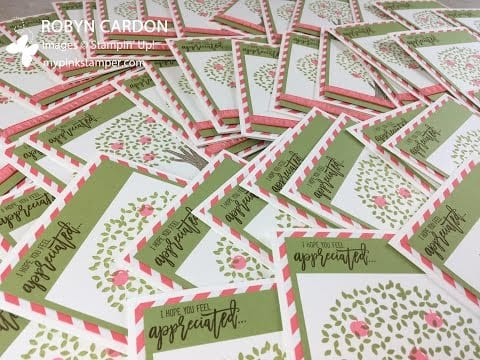 Thoughtful Branches Thank You Cards Video Tutorial – Episode 504