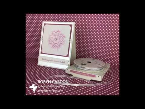 Stampin' Up! Frosted Medallion Video Tutorial & Bonus Video