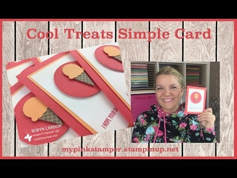 Stampin' Up! Cool Treats Simple AWESOME Video Tutorial! – Episode 545