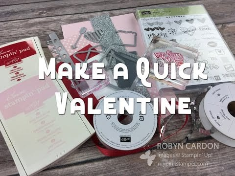 Stampin' Up! Sealed with Love Valentine Video Tutorial! – Episode 553