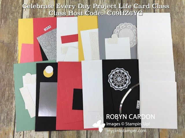 Celebrate Every Day Project Life Card Class!!