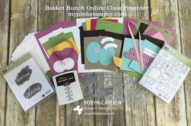Basket Bunch Online Class Preorder!
