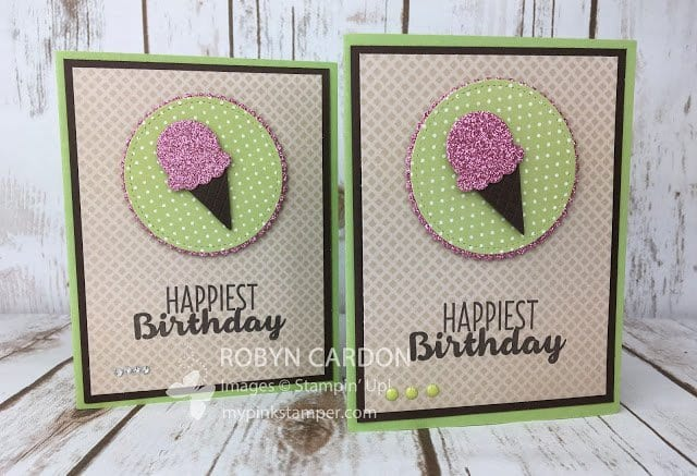 Cool Treats with Sugarplum Glimmer Paper Video Tutorial – Episode 565!!