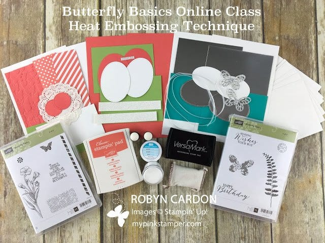 NEW Online Technique Class using Butterfly Basics Stamp Set- Preorder!
