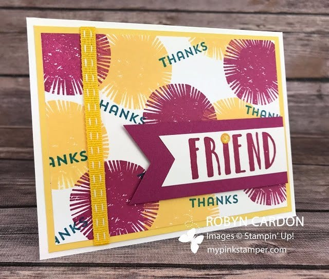 Day 30 – A Card a Day in May – Lovely Inside & Out Stamp Set