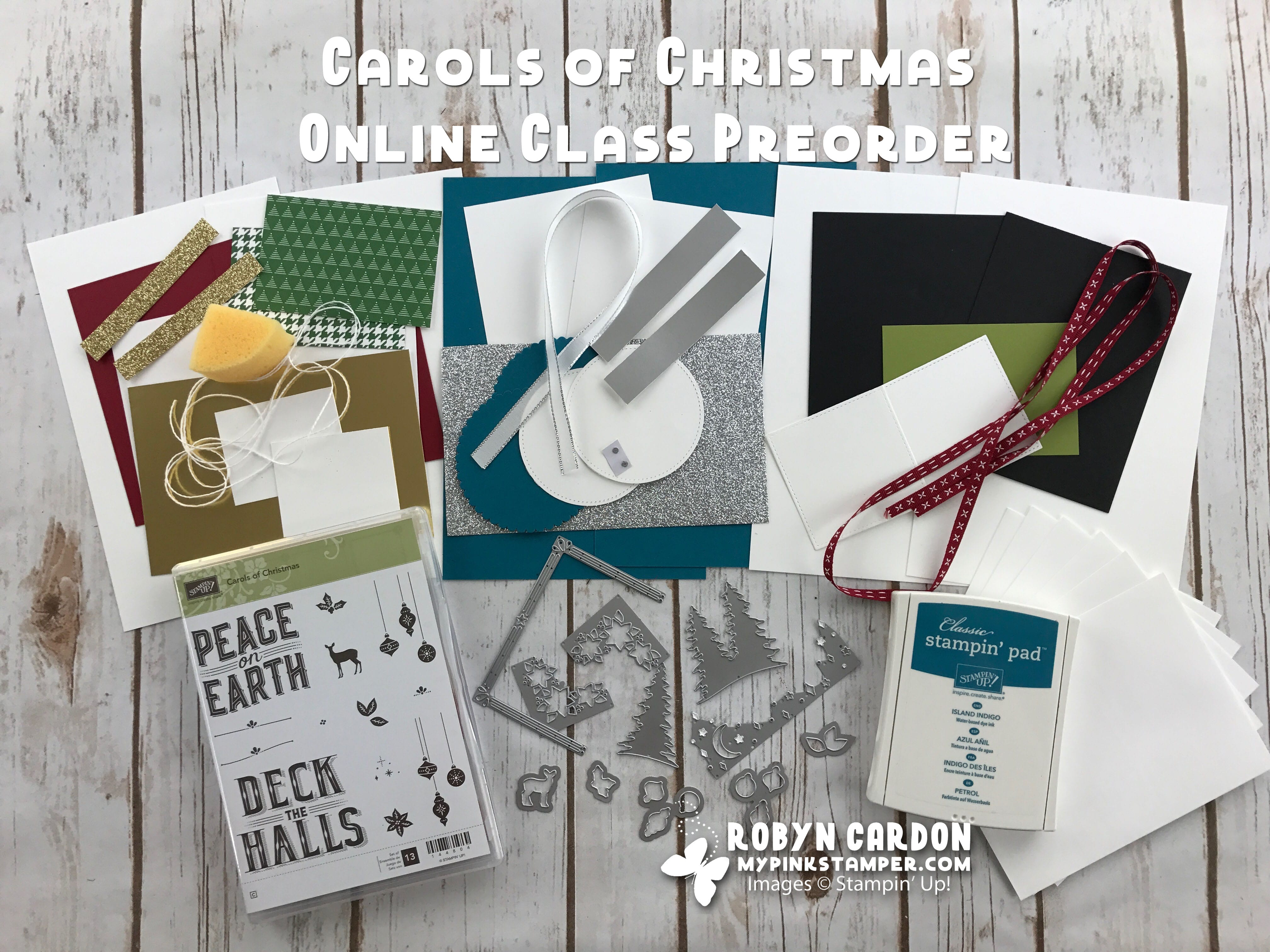 Carols of Christmas Online Class Preorder