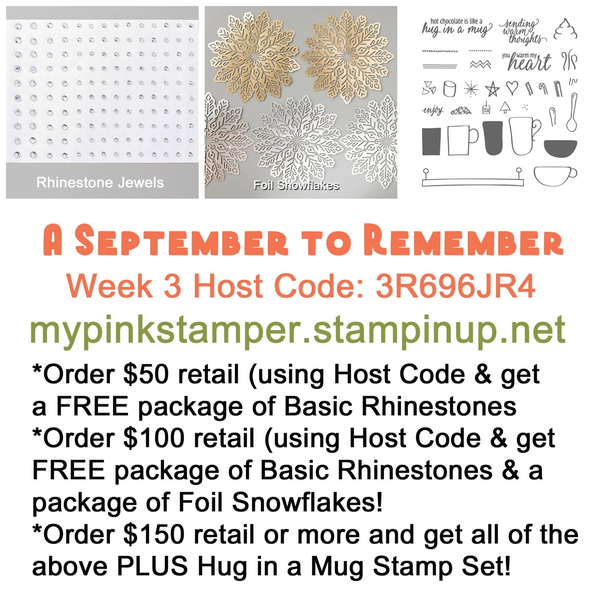 Week 3 of A September to Remember Promotion!