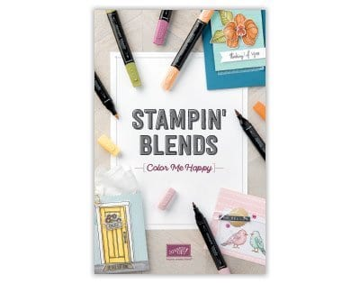 My Pink Candy Giveaway & Winner plus NEW Stampin' Blends!