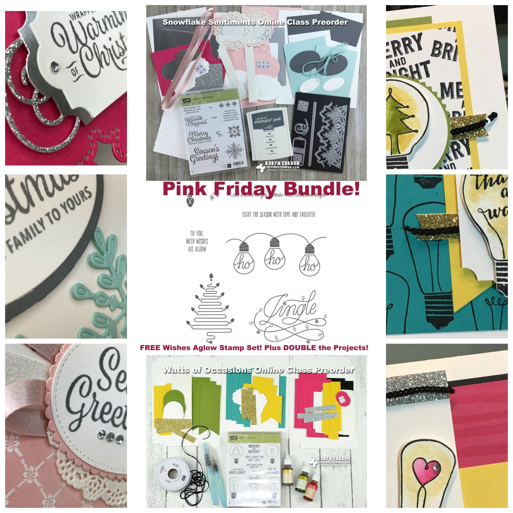 My Pink Friday Promotion! 2 Online Classes with Extra Goodies!