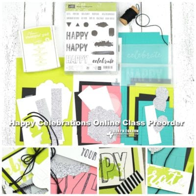 Day 6 – 12 Days of Christmas & Happy Celebrations Online Class Preorder!