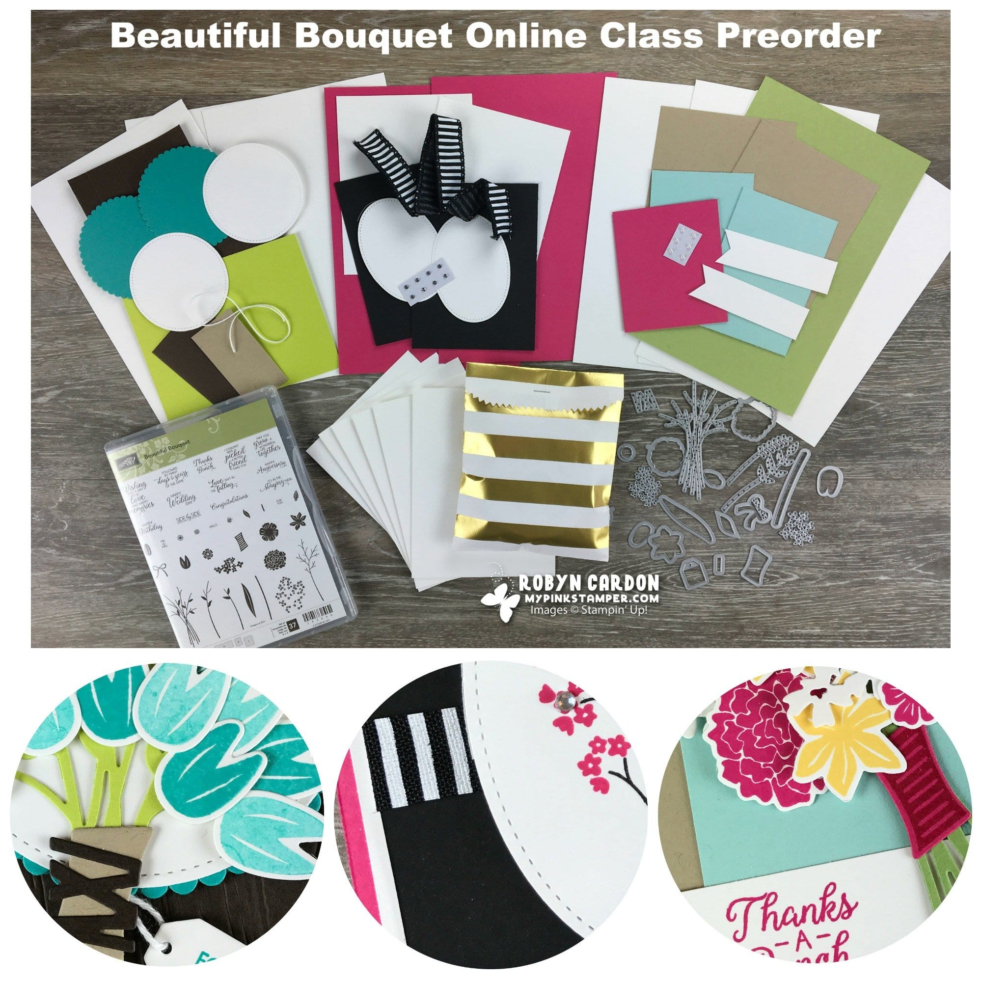 Beautiful Bouquet Online Class Preorder