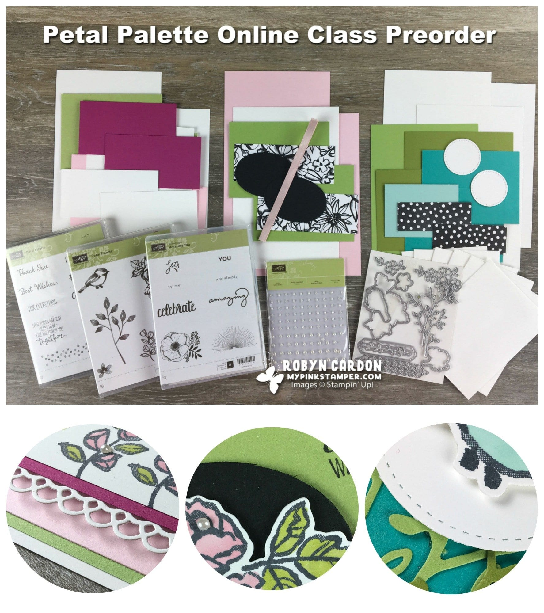 Petal Palette Online Class Preorder