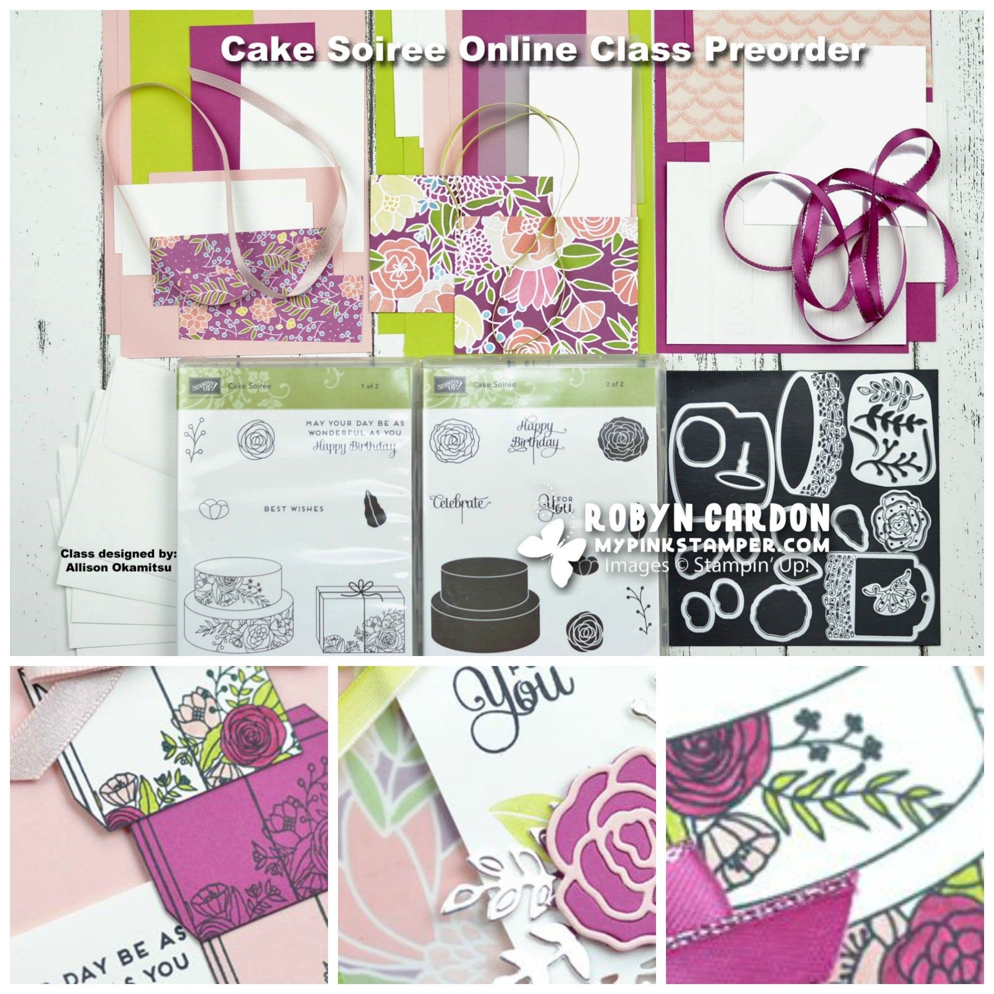 Cake Soiree Online Class Preorder