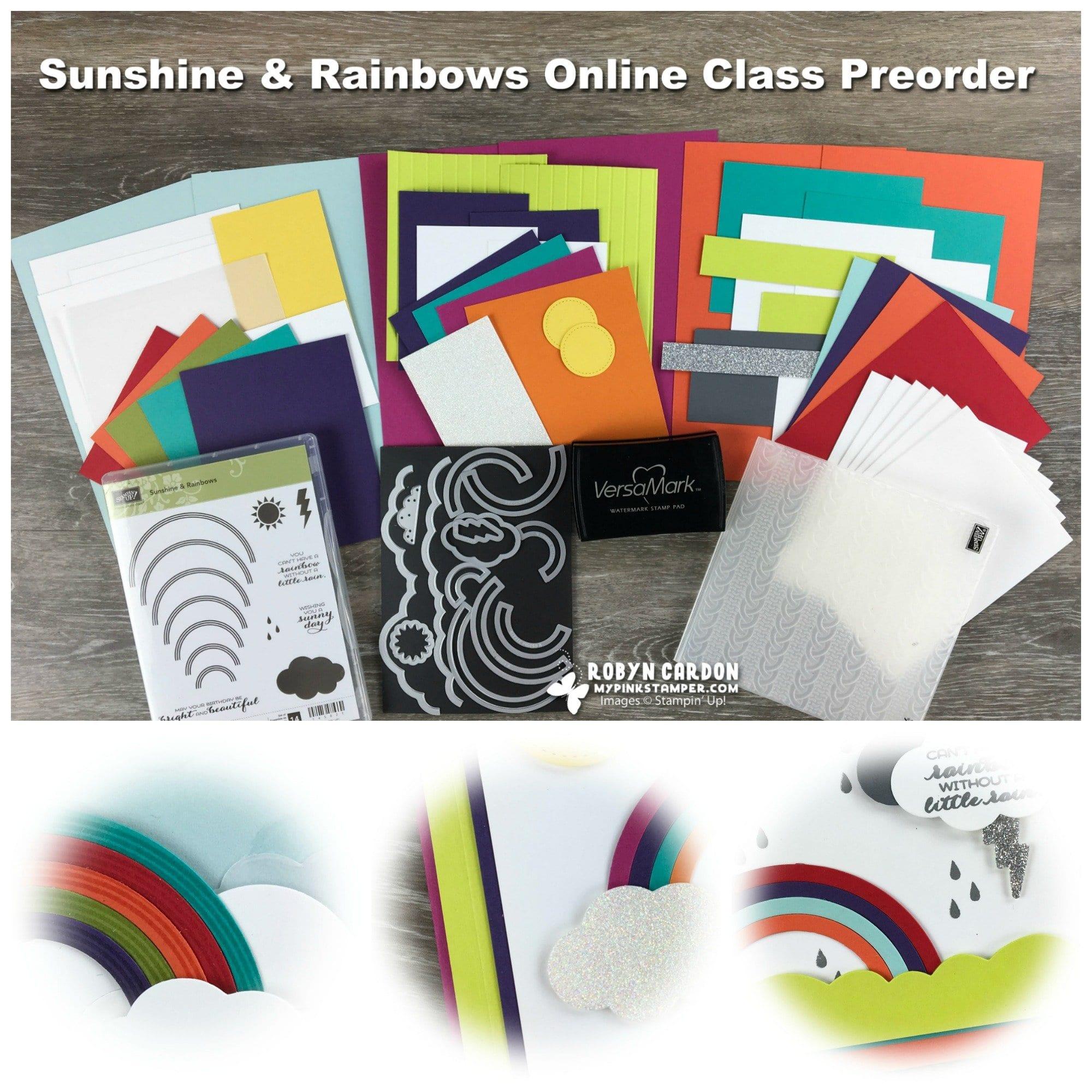 Sunshine & Rainbows Online Class Preorder