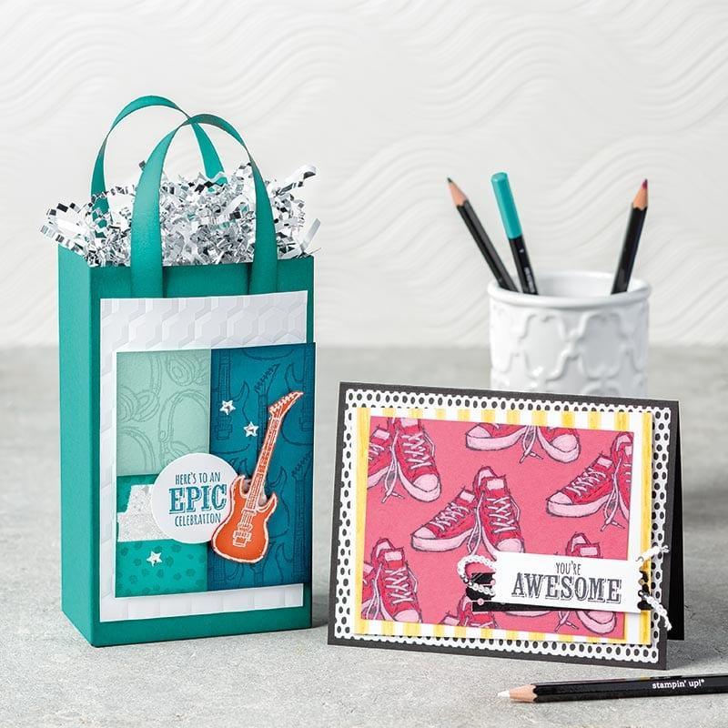 Stampin' Up! Epic Celebration Sale-a-bration Stamp Set & My Pink Stamper Live