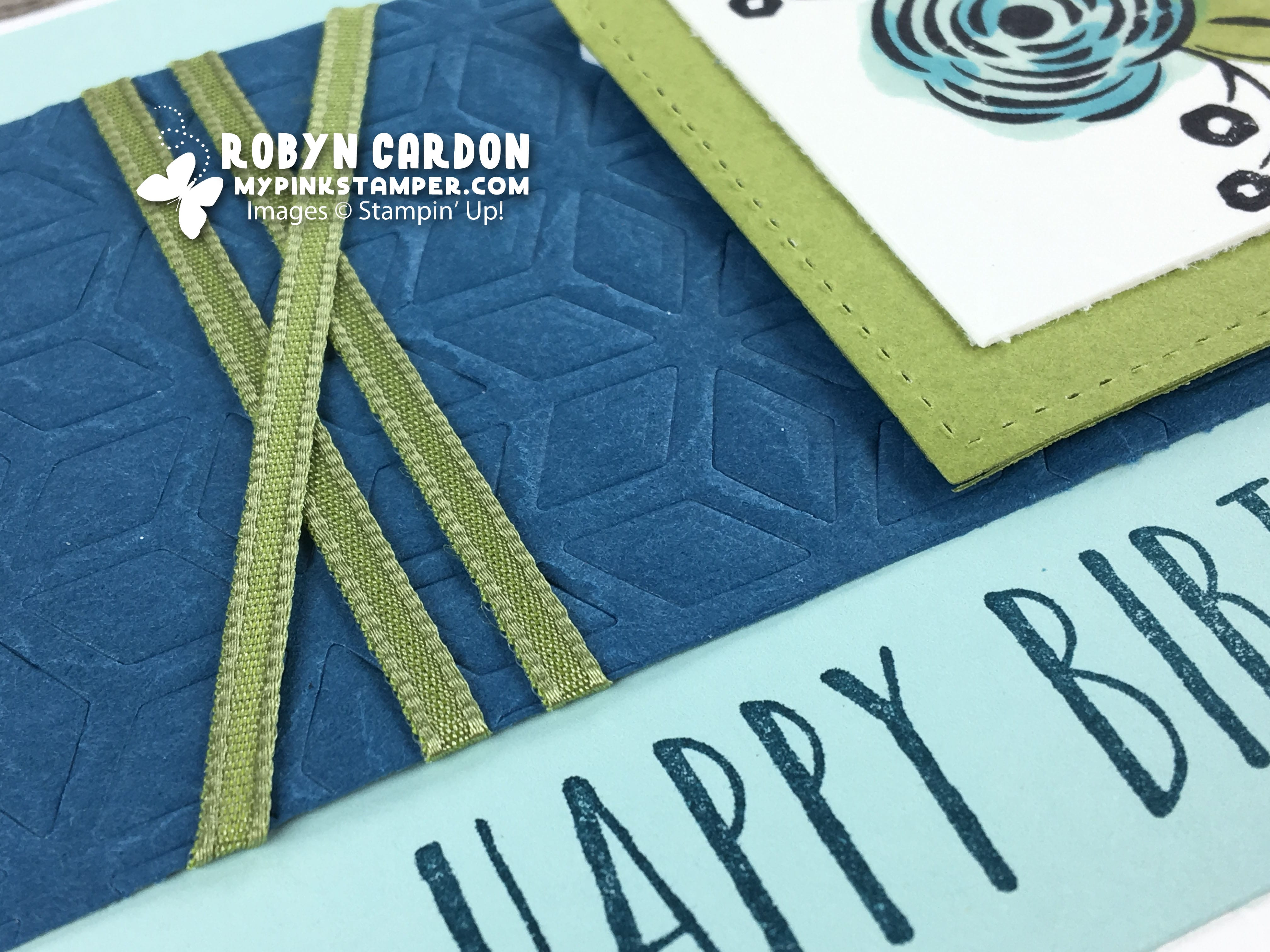 Stampin' Up! Perennial Birthday Party VIDEO Tutorial!