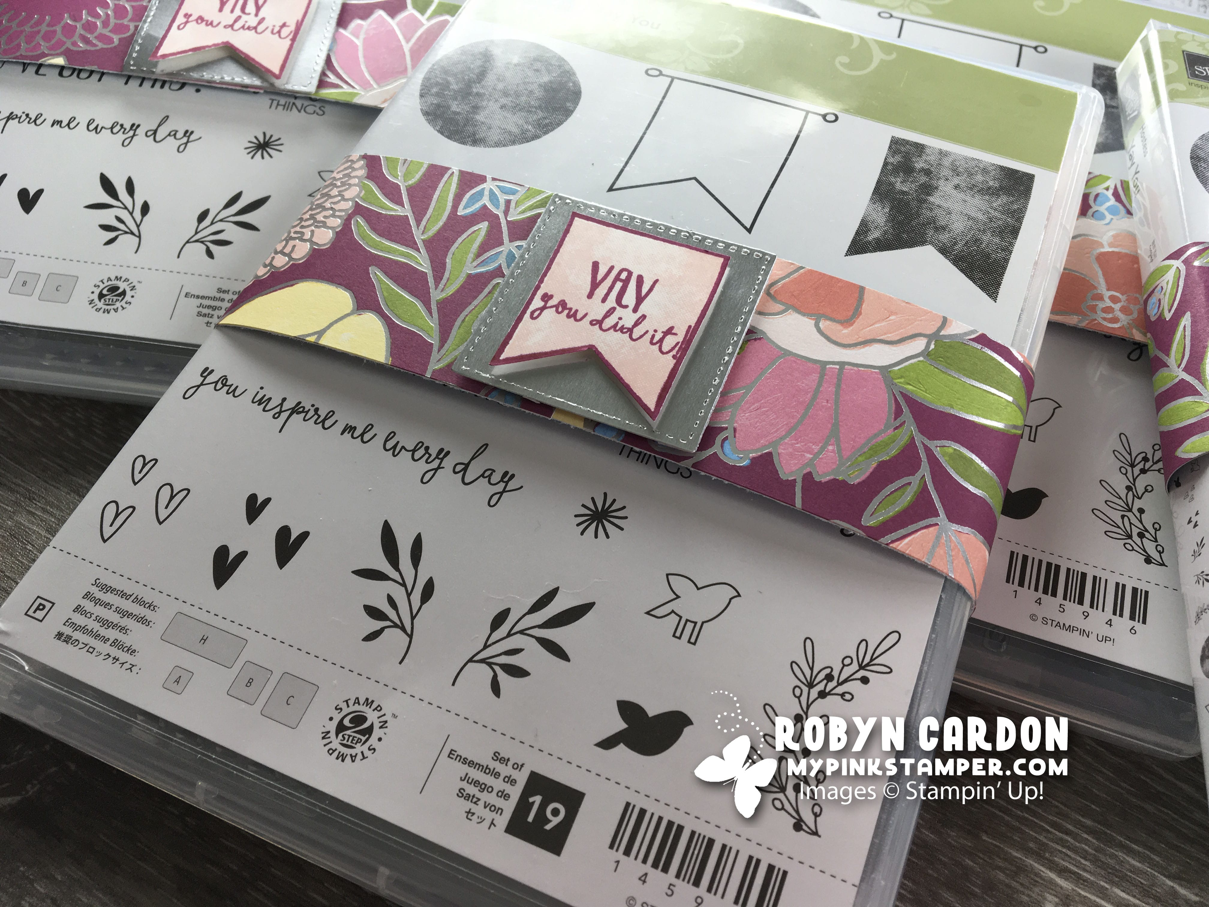 Stampin' Up! Yay You Team Goodies!