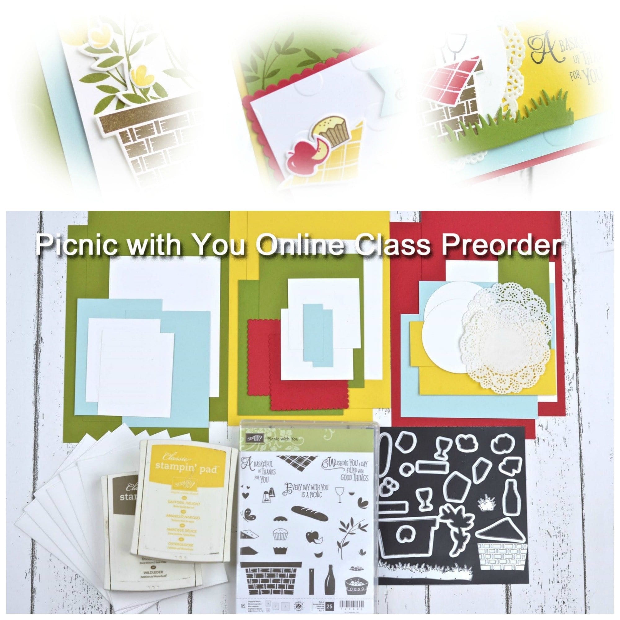 Picnic with You Online Class Preorder!!!