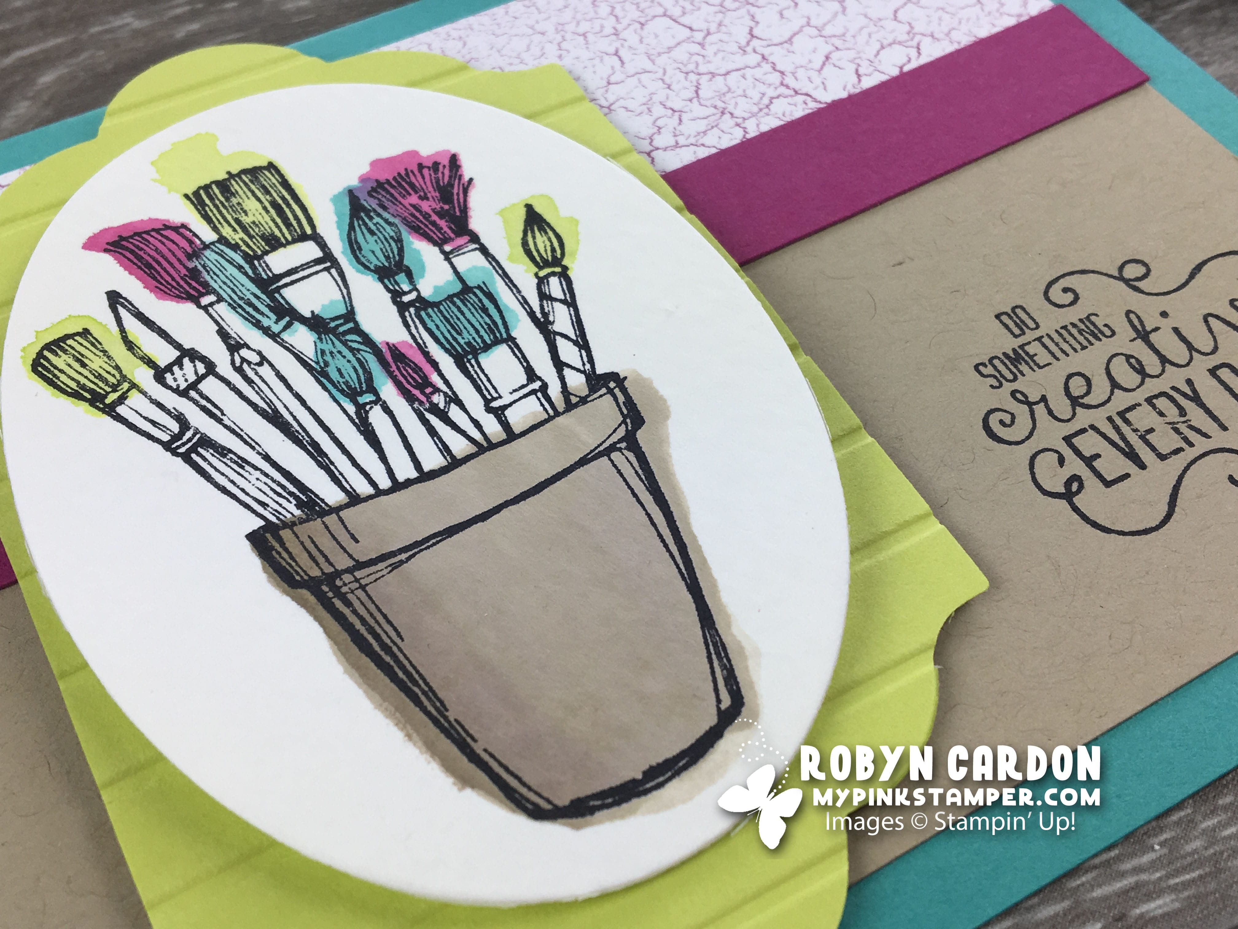 NEW VIDEO – Stampin' Up! Crafting Forever with Watercolor!