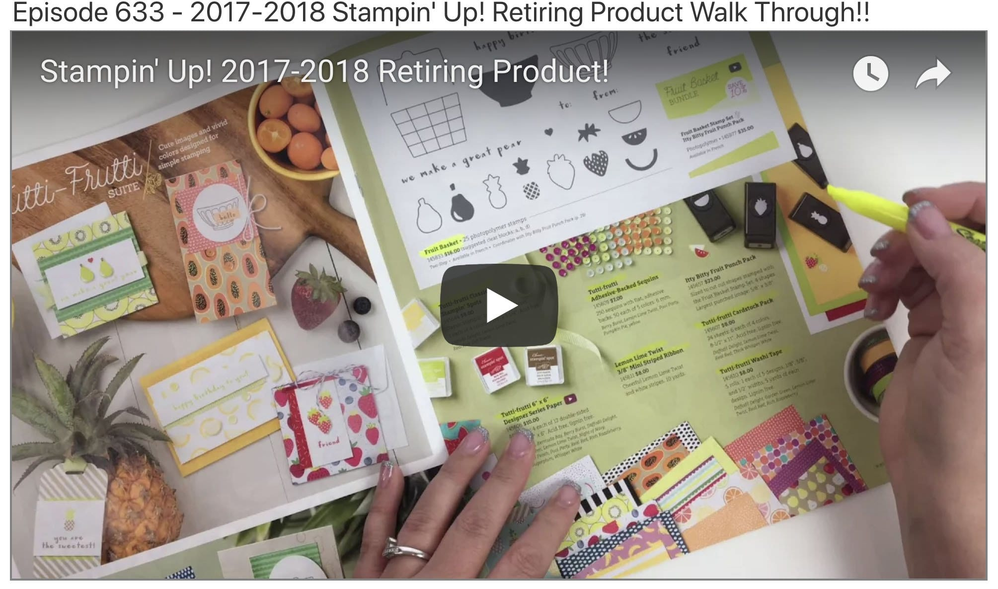 FULL Video Tutorial of Retiring Product!!