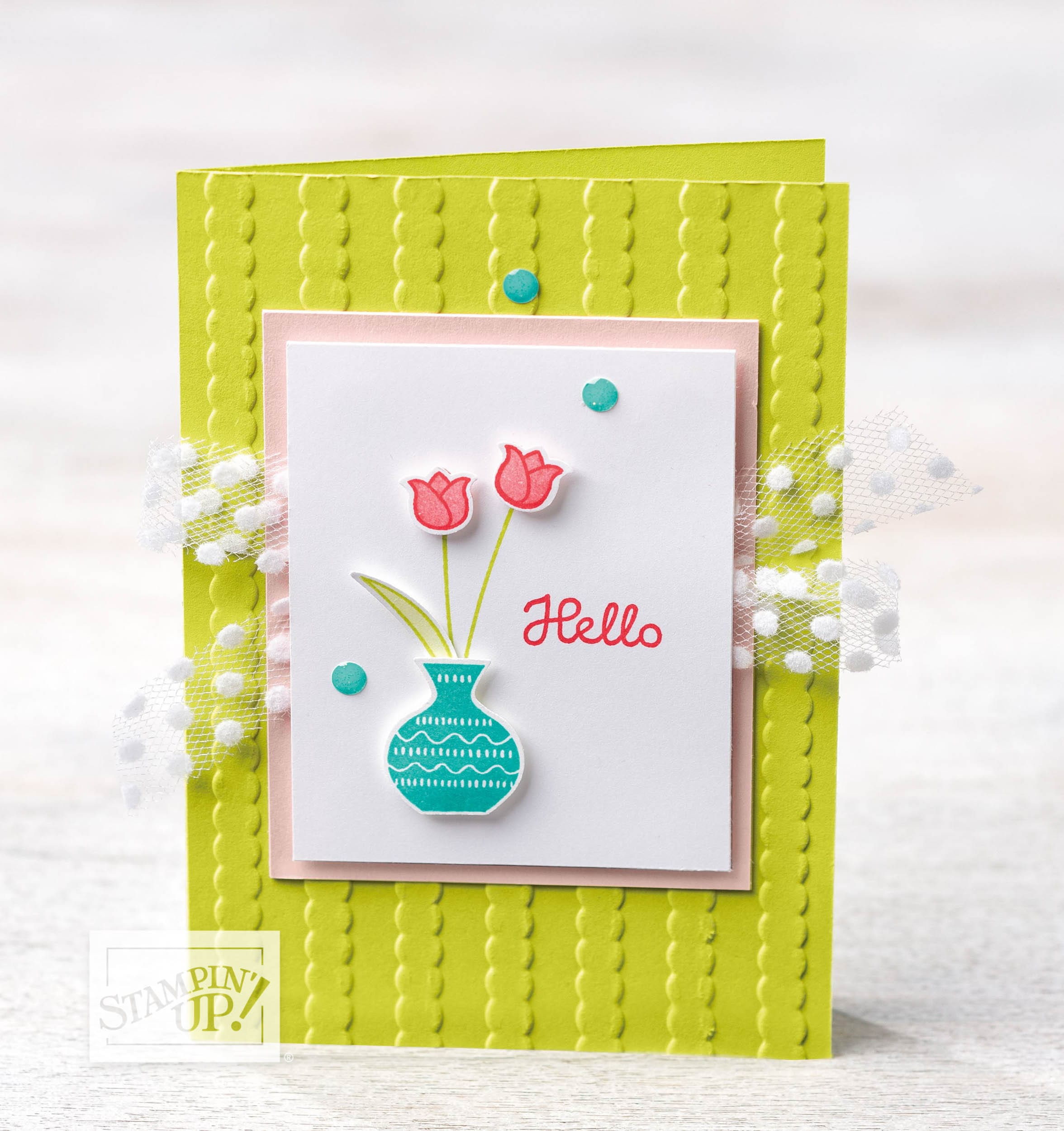 Varied Vases Fun Card, Abstract Impressions Class & Mexico!