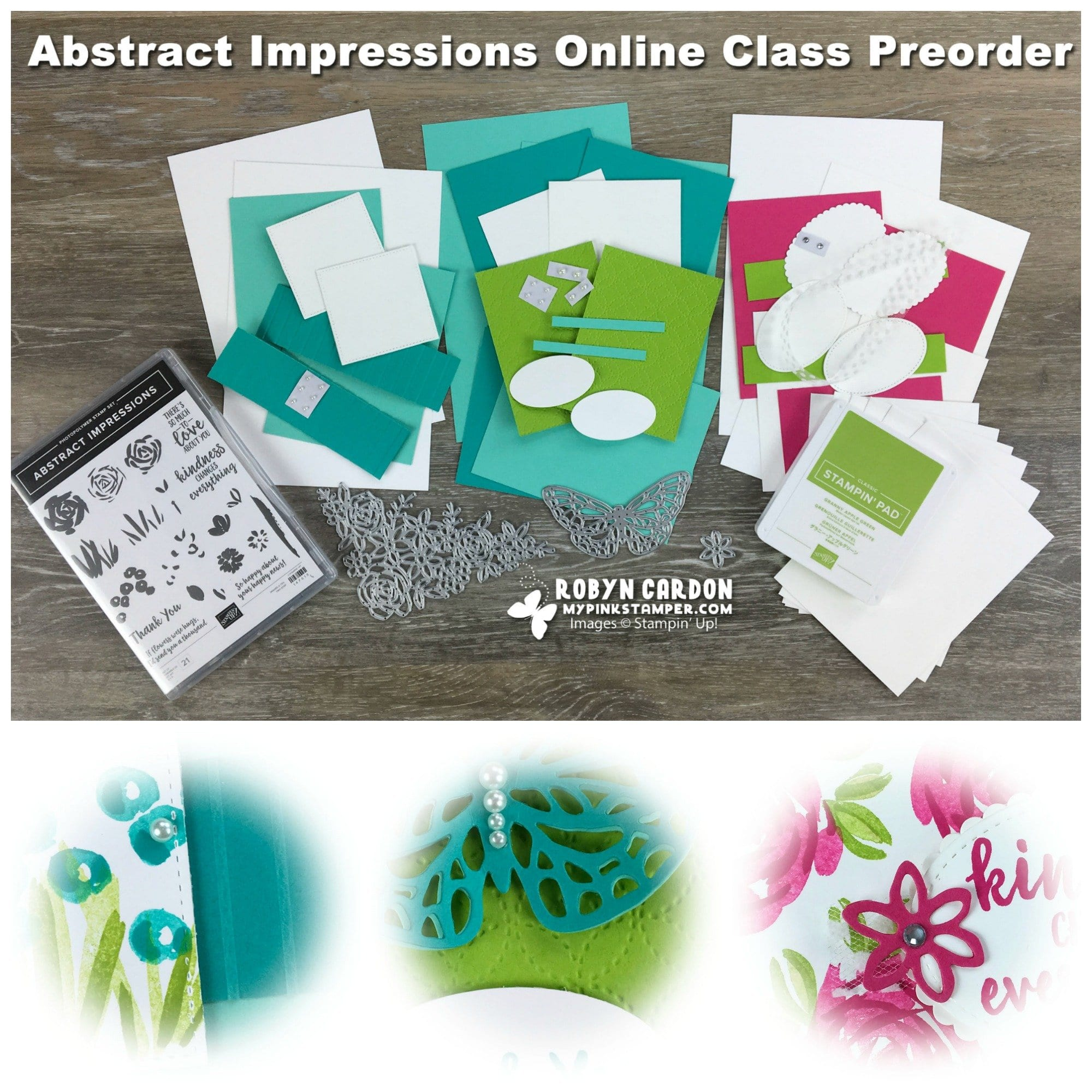 Abstract Impressions Online Class Preorder Now Open!