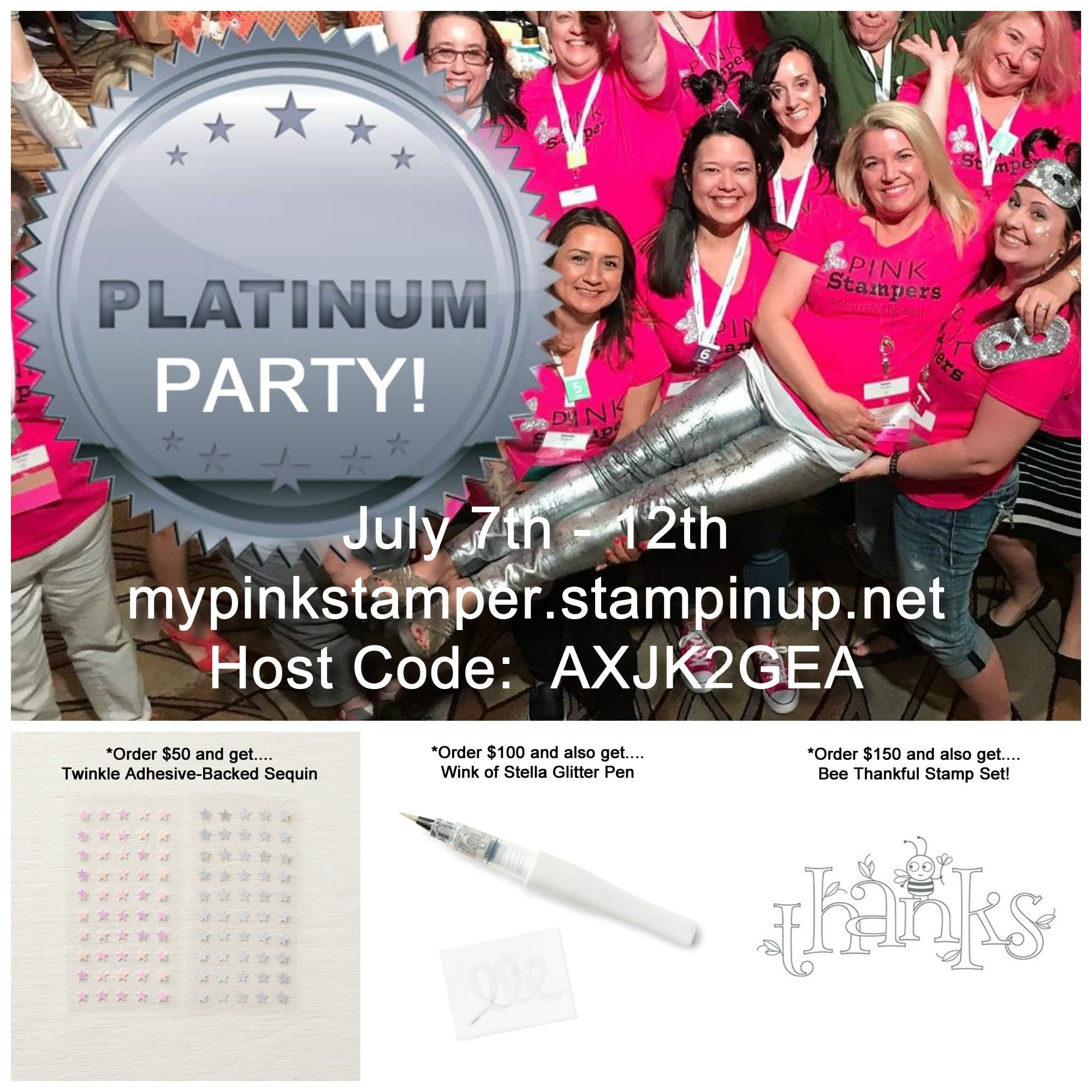 It's a PLATINUM Party!