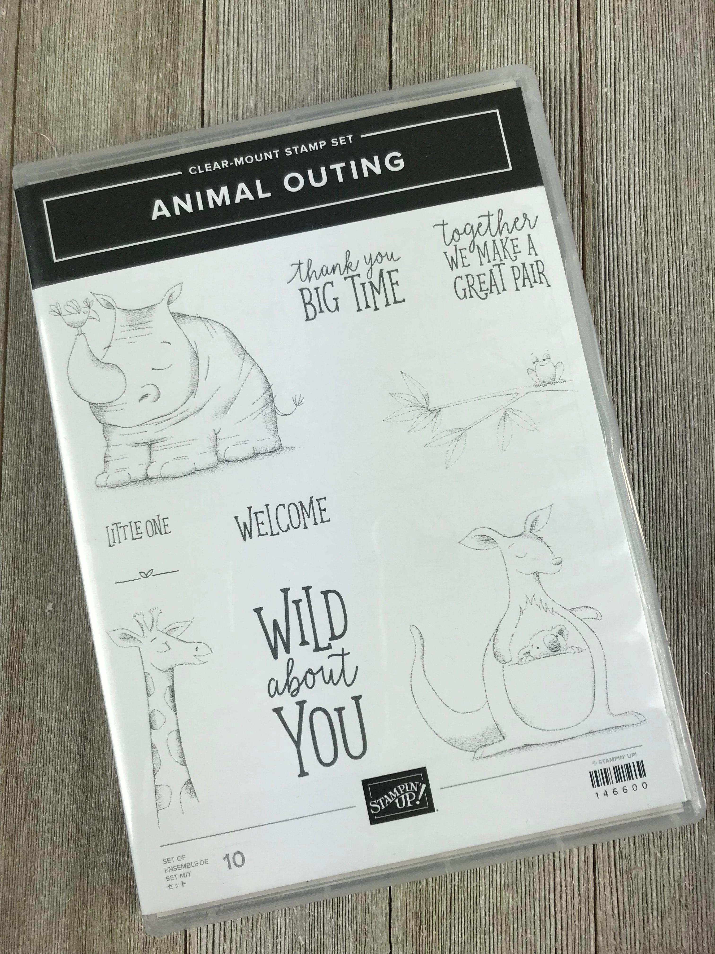Alaska Bound – Day 7 – Stampin' Up! Animal Outing Stamp Set