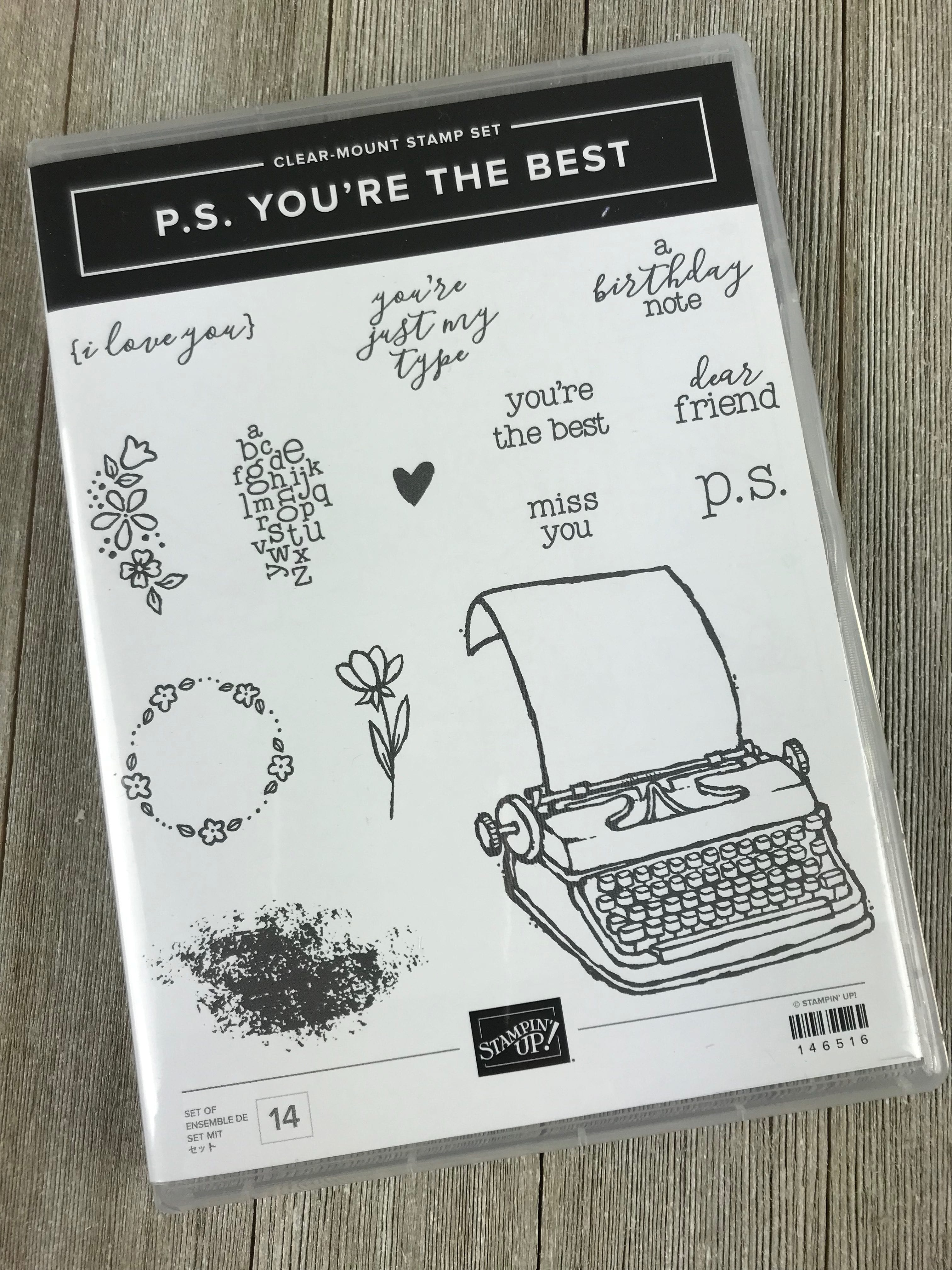 Alaska Bound – Day 9 – Stampin' Up! P.S. You're the Best Stamp Set Giveaway