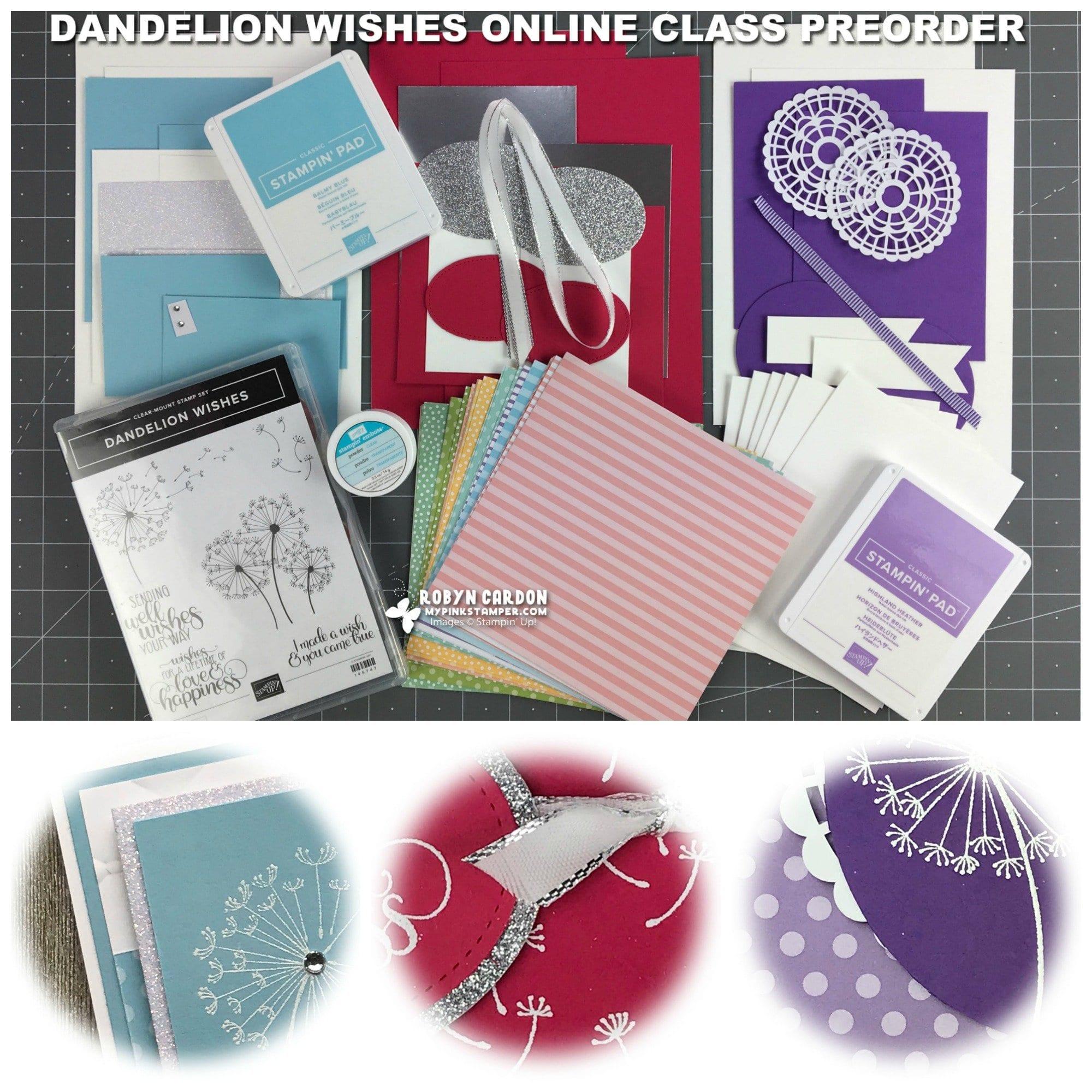 Dandelion Wishes Online Class Preorder