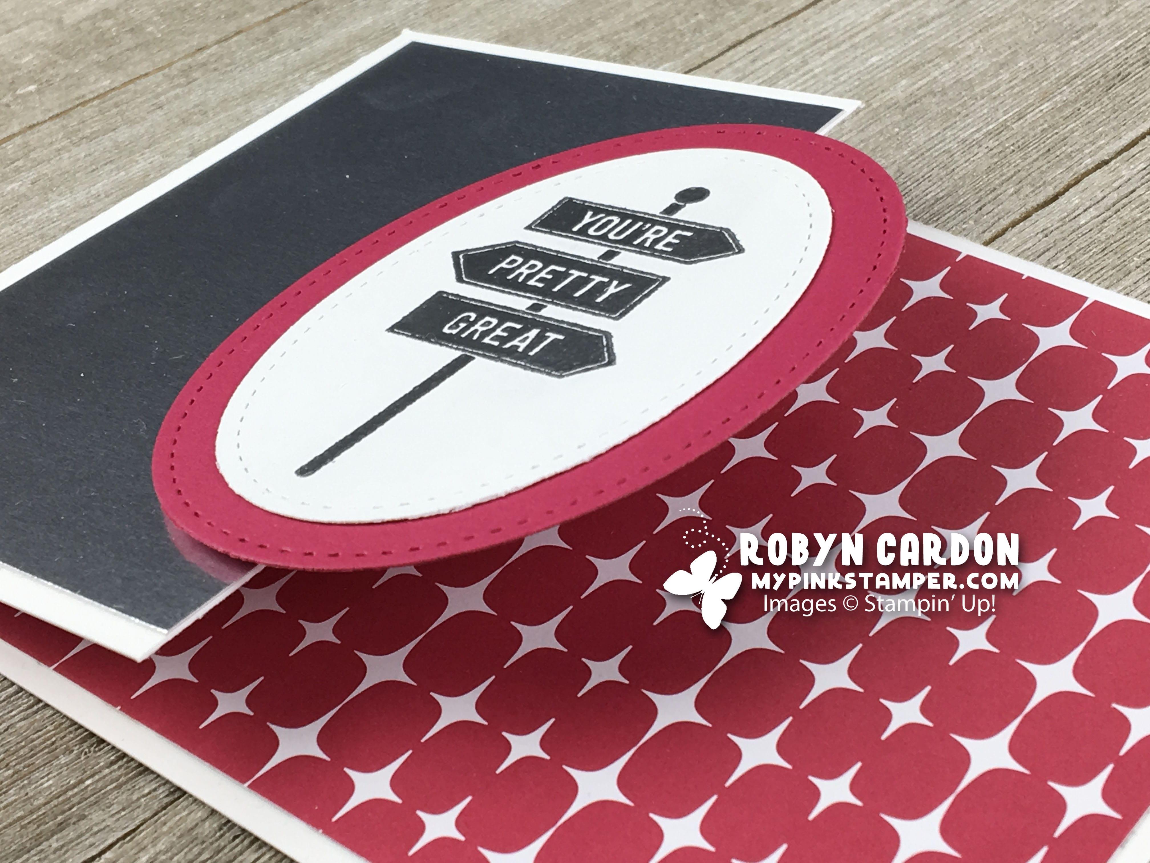 Episode 649 – Stampin' Up! En Route Fun Fold Card