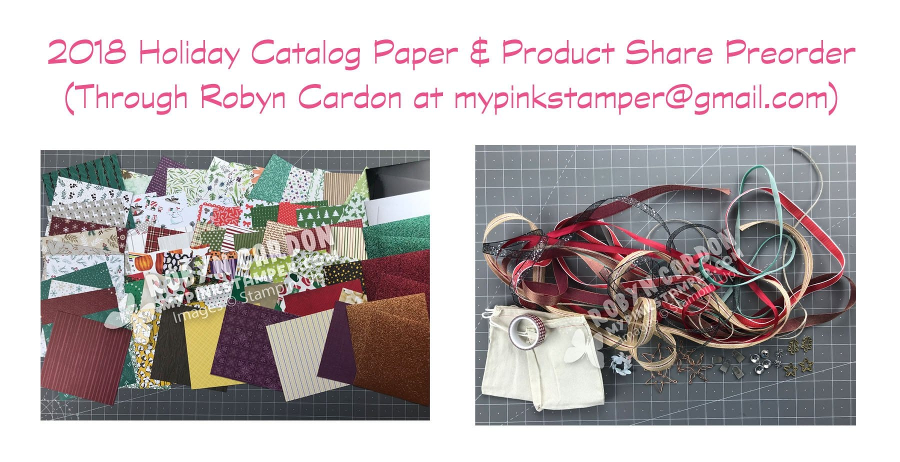 2018 Holiday Catalog Paper & Product Share Preorder
