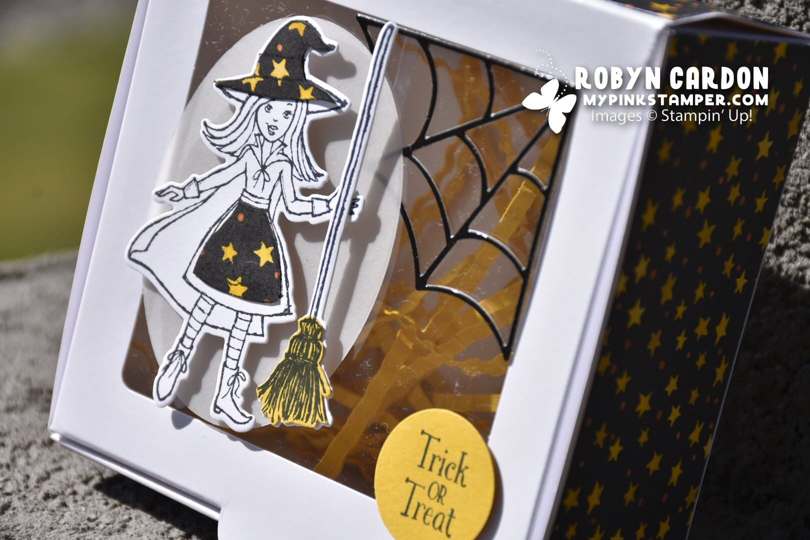 Episode 659 – Stampin' Up! Cauldron Bubble Baker's Box Video Tutorial!!