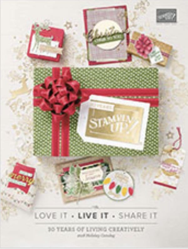 New Holiday Stampin' Up! Catalog is LIVE!!!!  Huge Promotion, too!!