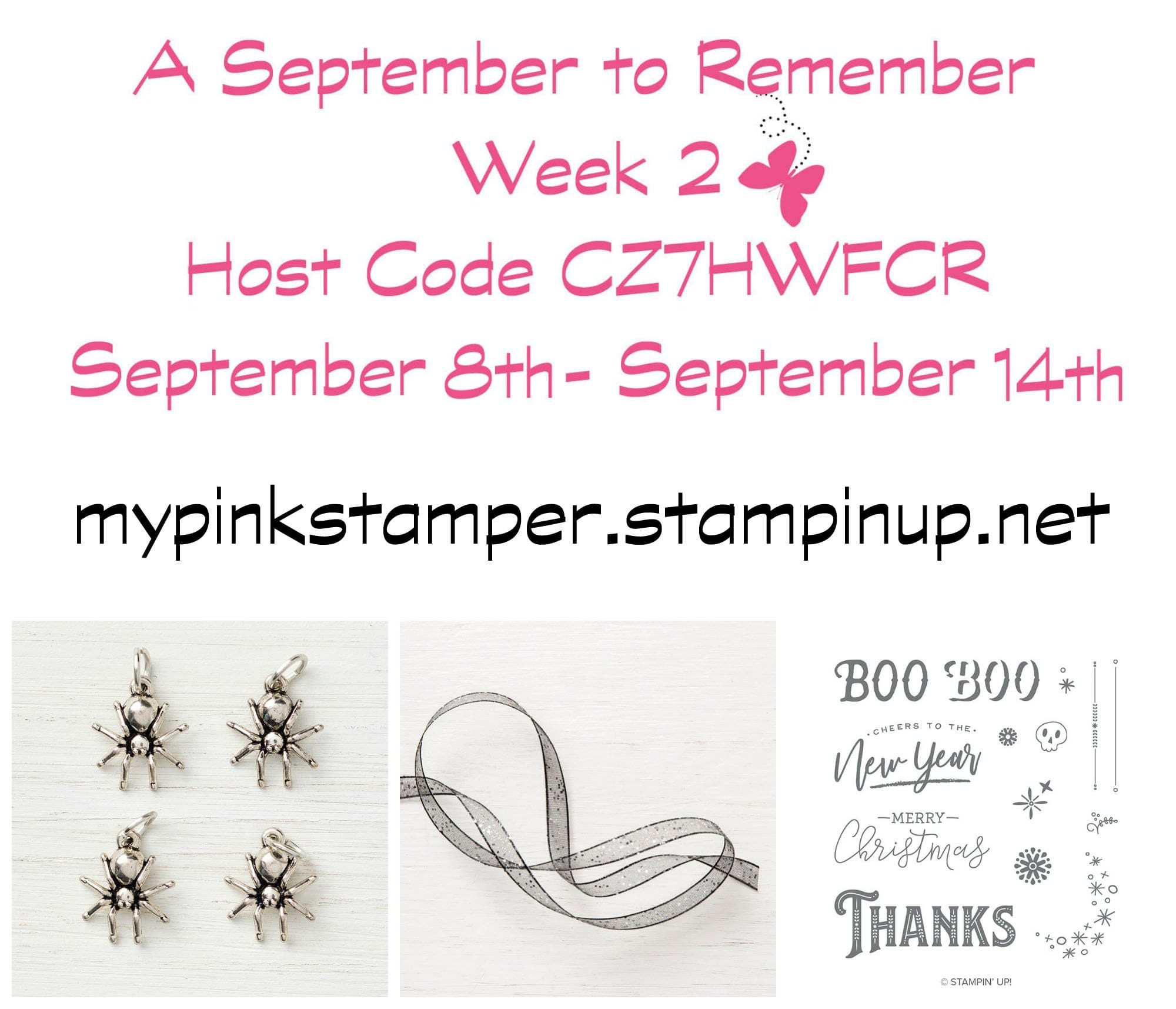 Week 2 of A September to Remember & My Pink Candy Giveaway & Winner!