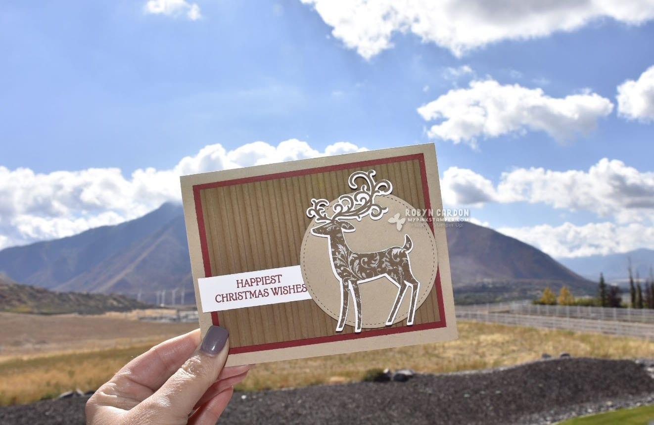 Blog-tober Days 5 & 6 Plus NEW Video Tutorial using Stampin' Up! Dashing Deer!
