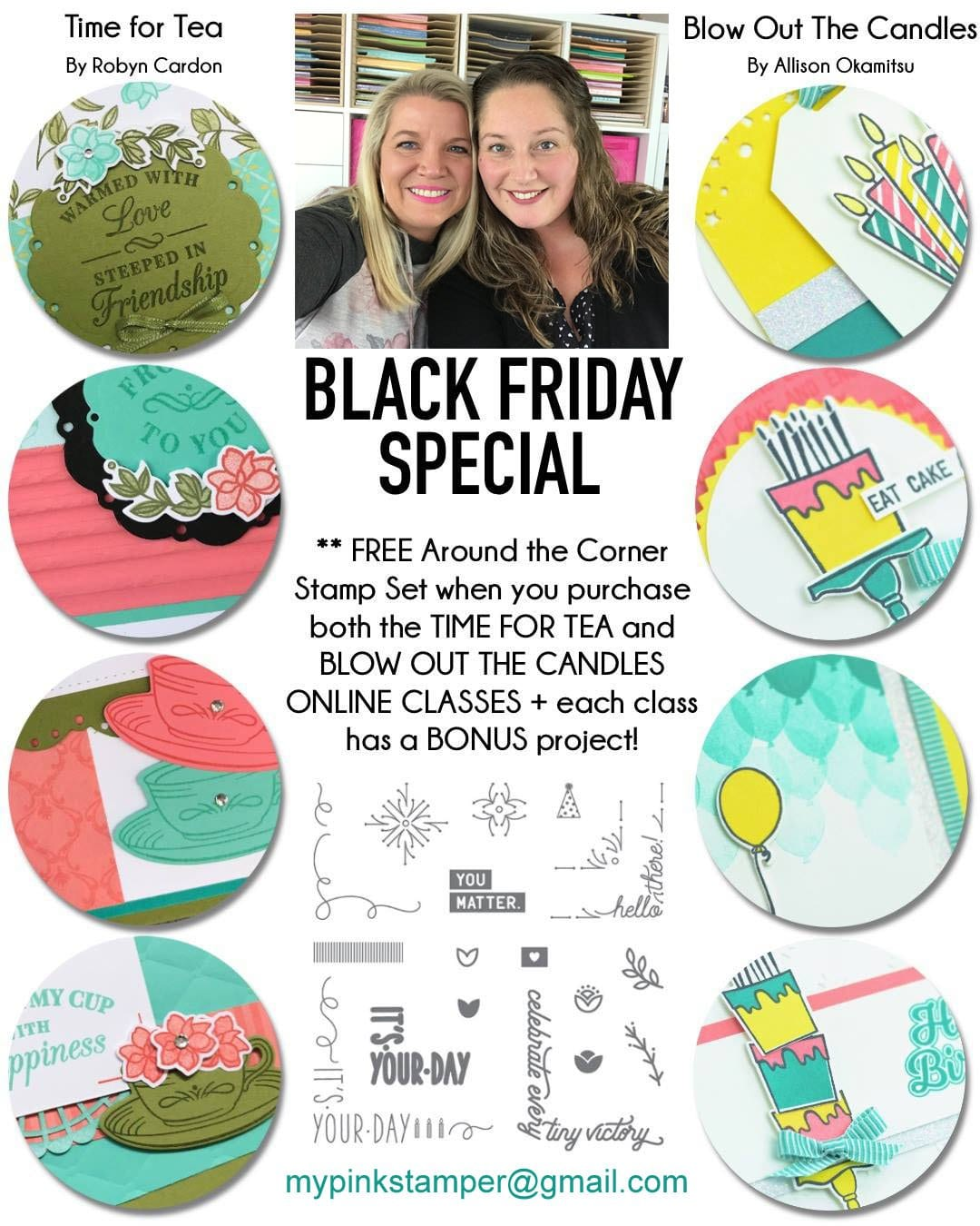 Robyn's Black Friday 2 Class Combo Preorder!!