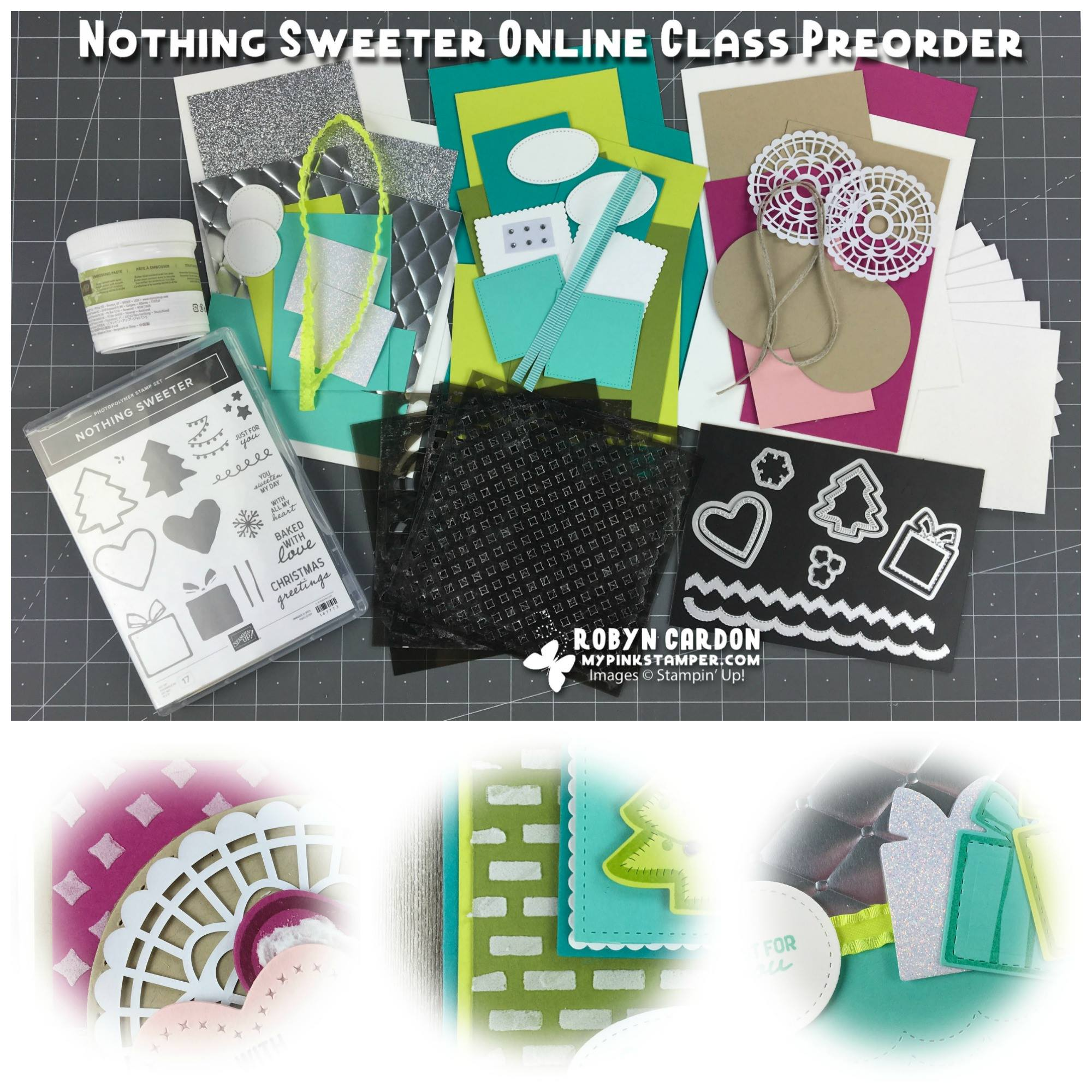 Nothing Sweeter Online Class Preorder