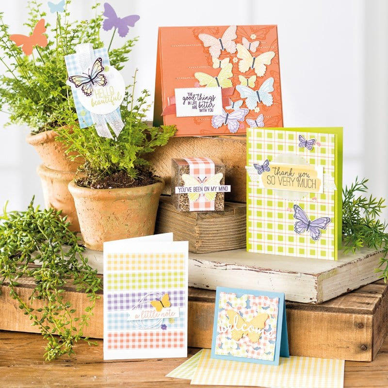 Episode 676 – Home to Roost Live Demo & Stampin' Up! Butterfly Gala Spotlight & Sale-a-bration!