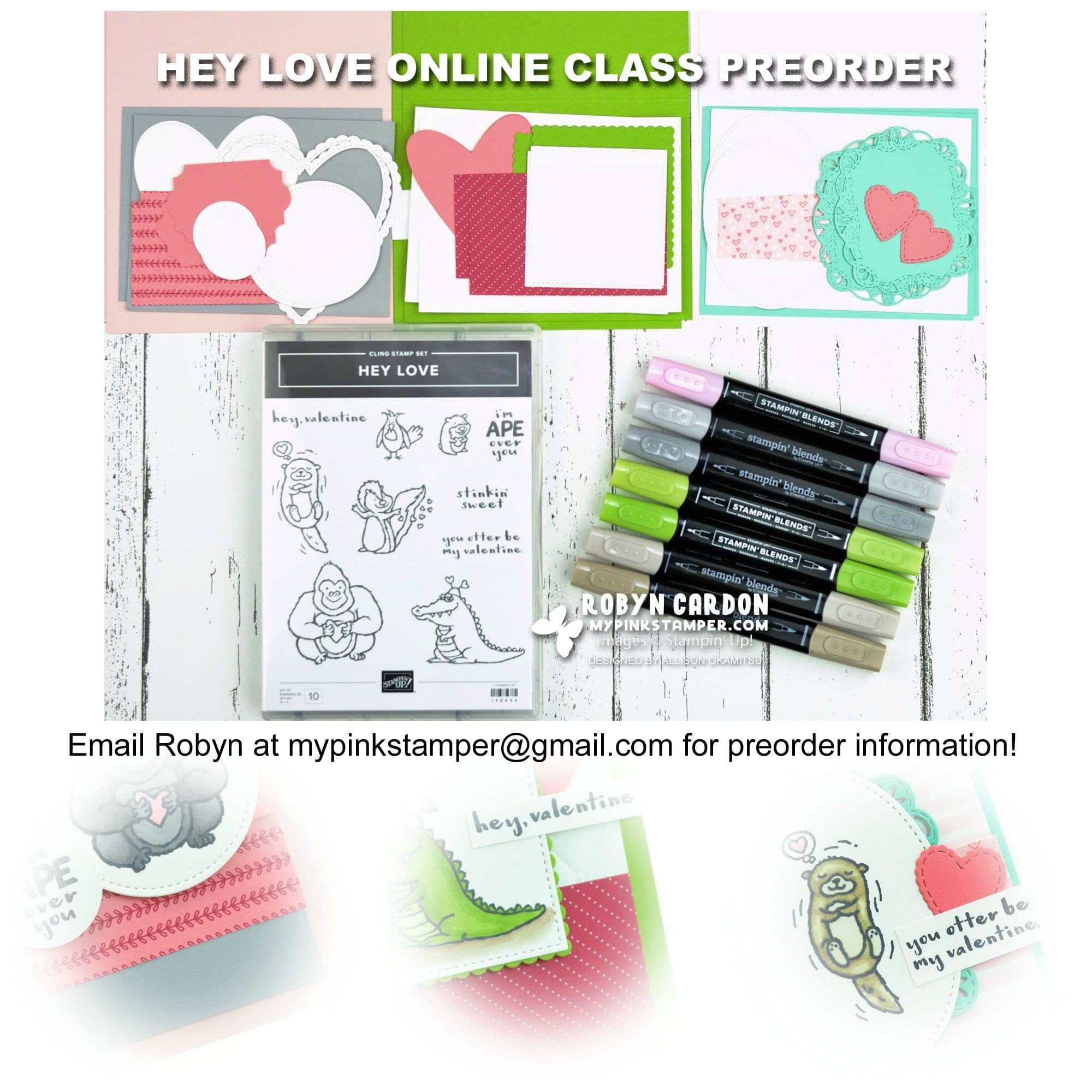 Hey Love Online Class Preorder