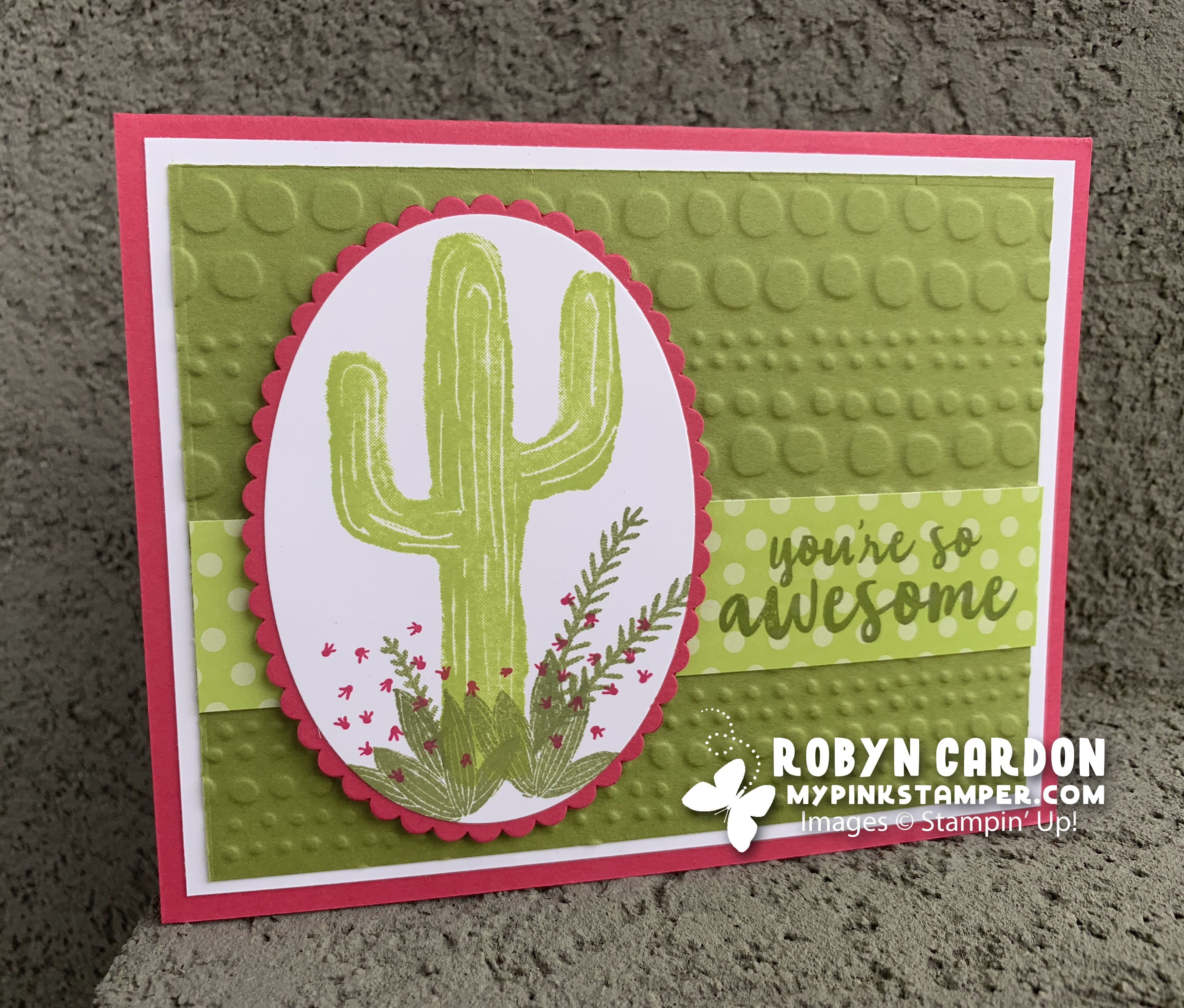 Stampin' Up! Flowering Desert VIDEO Tutorial! – Episode 677