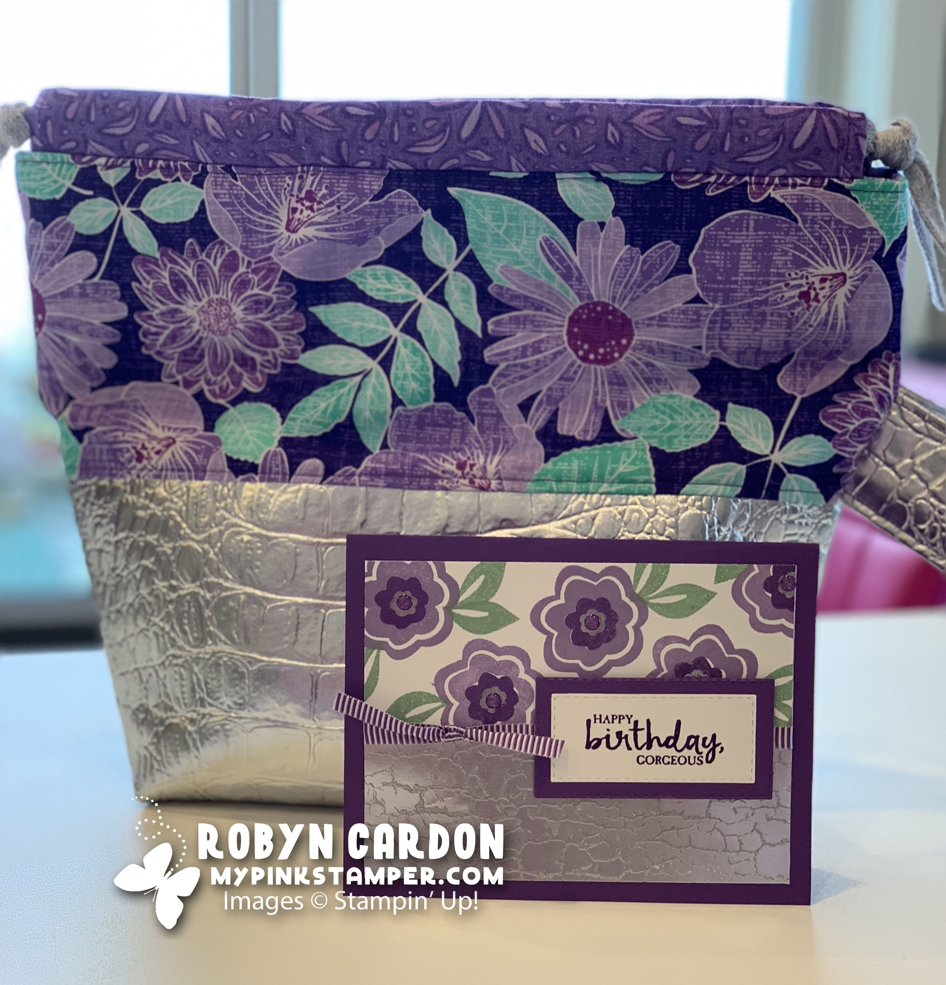 Stampin' Up! Bloom by Bloom Video Tutorial (Ep. 678) & My Pink Candy Giveaway!!
