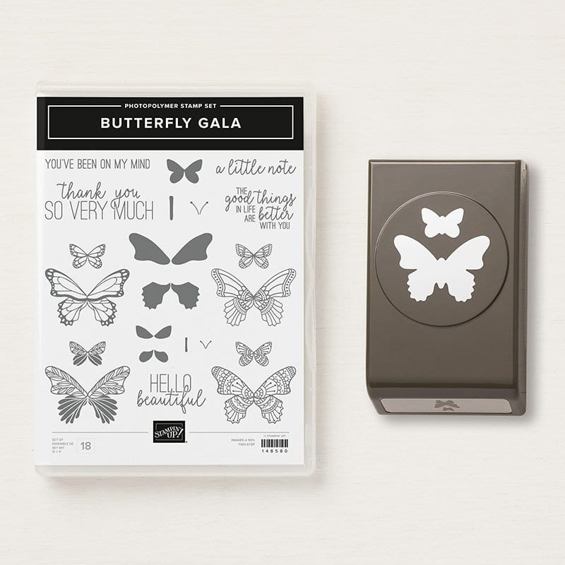 Stampin' Up! Butterfly Gala Giveaway Giveaway & Last Week's Winner!
